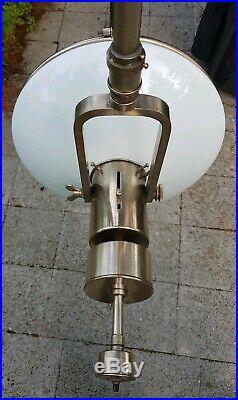 Sistrah OP Lampe Bauhaus Lamp Otto Müller Arzt Zahnarzt Art Deco Industrial Loft