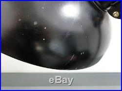 Tischlampe, Christian Dell, Kaiser & Co, Modell 6631, Präsident, Art Deco, schwarz