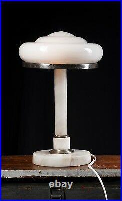 USSR Marmor Tischlampe Schreibtischlampe LOFT Lempe Bürolampe Art Deco CCCP