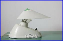 Vintage Art Deco Bauhaus Bakelite Desk/Wall Lamp by ESC