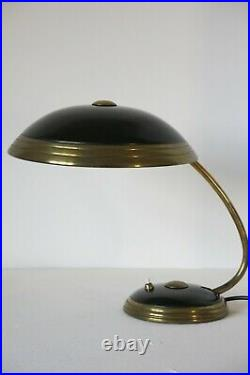 Vintage Art Deco Mid Century Bauhaus Table Lamp By Helo Leuchten