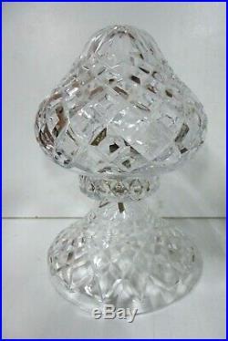 Vintage Crystal Bedside Table Lamp Art Deco