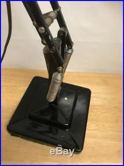 Vintage Industrial Herbert Terry Anglepoise Lamp Desk Table Light -Art Deco