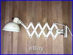 Vintage KAISER IDELL SCISSOR lamp Christian Dell Bauhaus 6817 Art Deco Bauhaus
