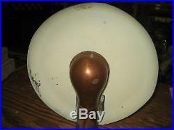 Vintage METAL COBRA DESK LAMP ART DECO Robert Fairies Jean O Reinecke