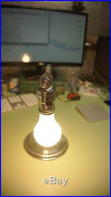 Vintage Table Lamp 1930's Art Deco Mid Century Chrome Chase FREE SHIPPING