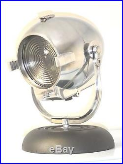 Vintage Theatre Light Antique Art Deco Alessi Desk Film Lamp Eames Strand Retro