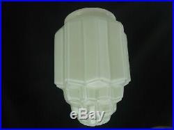 Vintage art deco diana lamp light shade skyscraper
