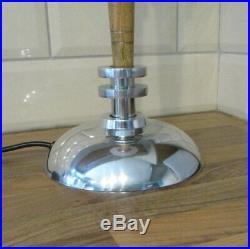 Vintage art deco style disc table desk lamp