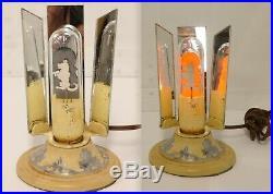 Vtg ART DECO SCOTTIE DOG NIGHT LIGHT AEROLUX FILAMENT LAMP Works