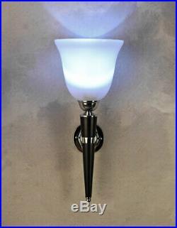 WANDLAMPE MAZDA Wandleuchte KLASSIKER Fackel Lampe Art Deco Leuchte Bauhaus