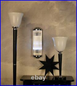Wall Lamp Bauhaus Lamp Art Deco Wall Lamp Cinema Light Glass Lamp
