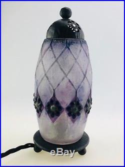 Wunderschöne Lampe Aus Dem Hause Gabriel Argy-rousseau Art Deco