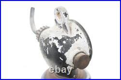 XXL Emaillampe, Art Deco Fabriklampe alte Werkstattlampe Emaille Loft Lampe
