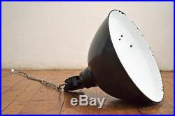 XXL Emaillelampe Groß Industrielampe Fabriklampe Loft Alt Bauhaus Art Deco Antik