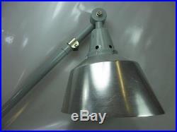 XXXL 150cm Midgard Art Deco Wand Scherenlampe Werkstattlampe Industrie Design