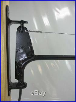 XXXL Lampe 95cm Art Deco Stil Industrie Design Wandlampe Schwenkbarer Ausleger
